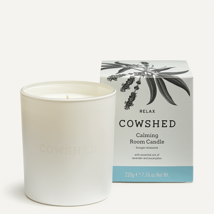 Cowshed RELAX Calming Room Candle 220g