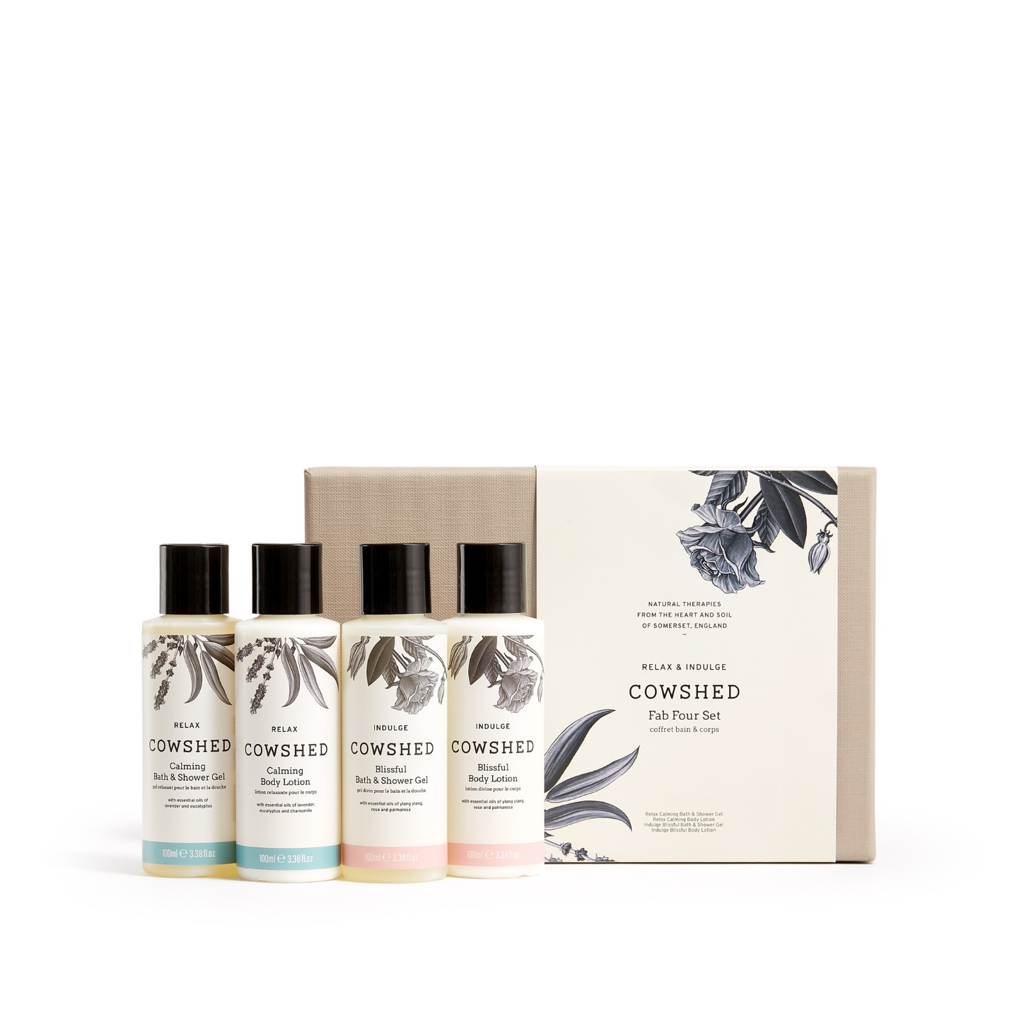 Cowshed Fab Four Gift Set