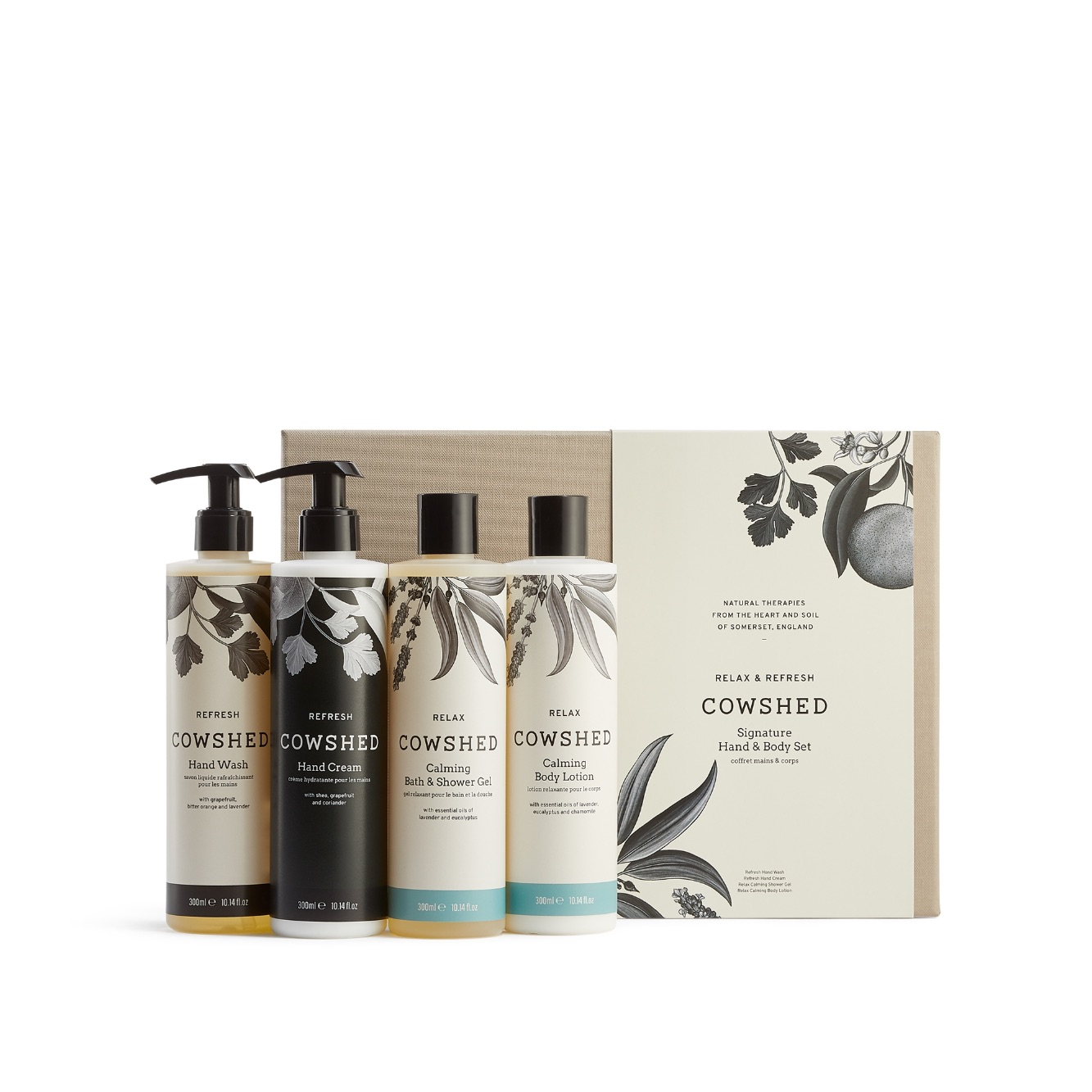 Cowshed Signature Hand & Body Collection Gift Set