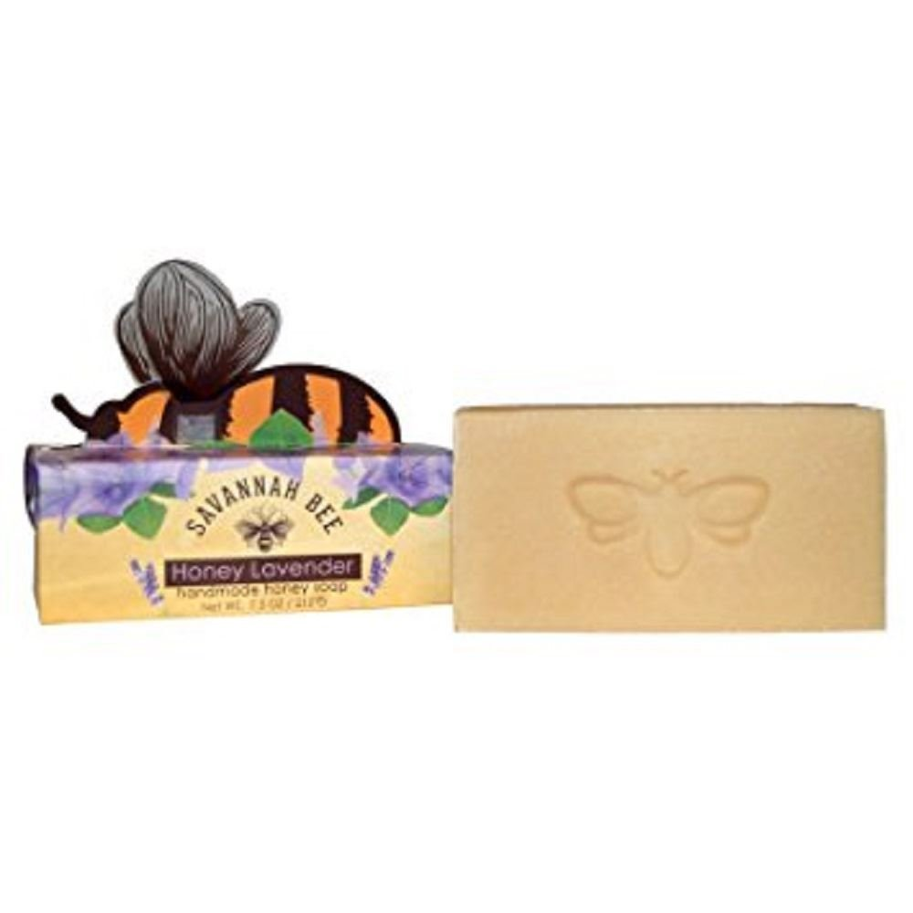 Savannah Bee Blackberry Rose Honey Bar Soap 212g