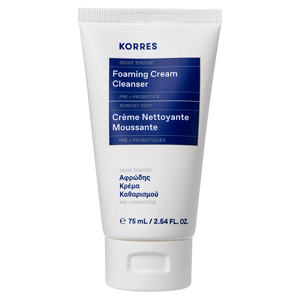 Korres Greek Yoghurt Foaming Cleanser 75ml