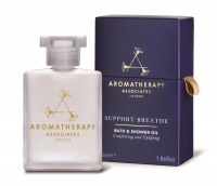 Aromatherapy Associates Support Breathe Bath And Shower Oil 55ml