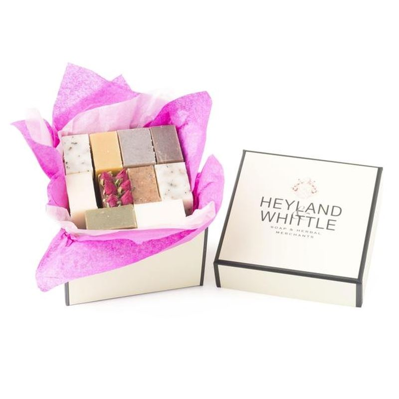 Heyland & Whittle 10 Small Soaps in a Gift Box