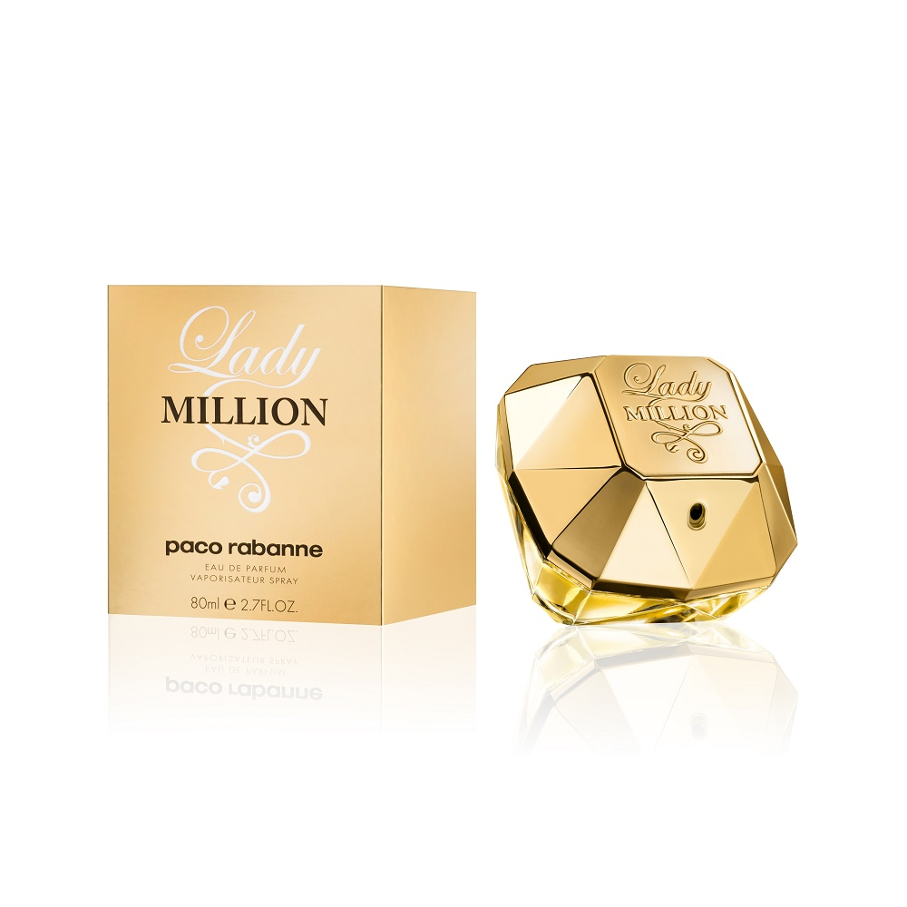 Paco Rabanne Lady Million Eau De Parfum 2.7oz (80ml)