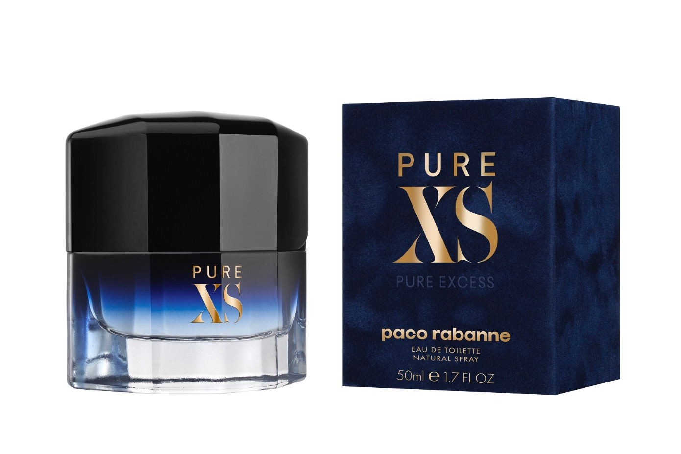 Paco Rabanne Pure XS for Men Eau De Toilette 50ml