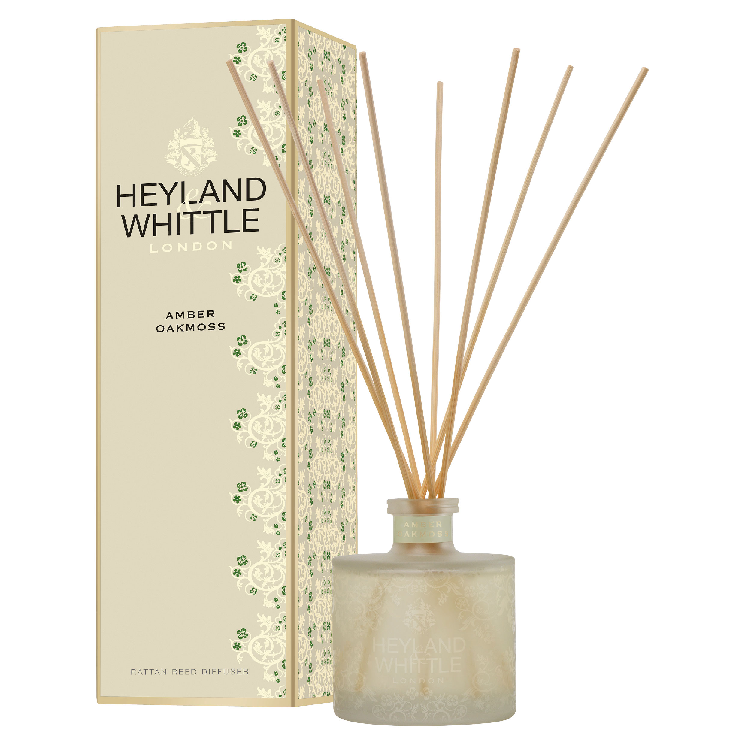 Heyland & Whittle Gold Classic Amber Oakmoss Reed Diffuser 200ml