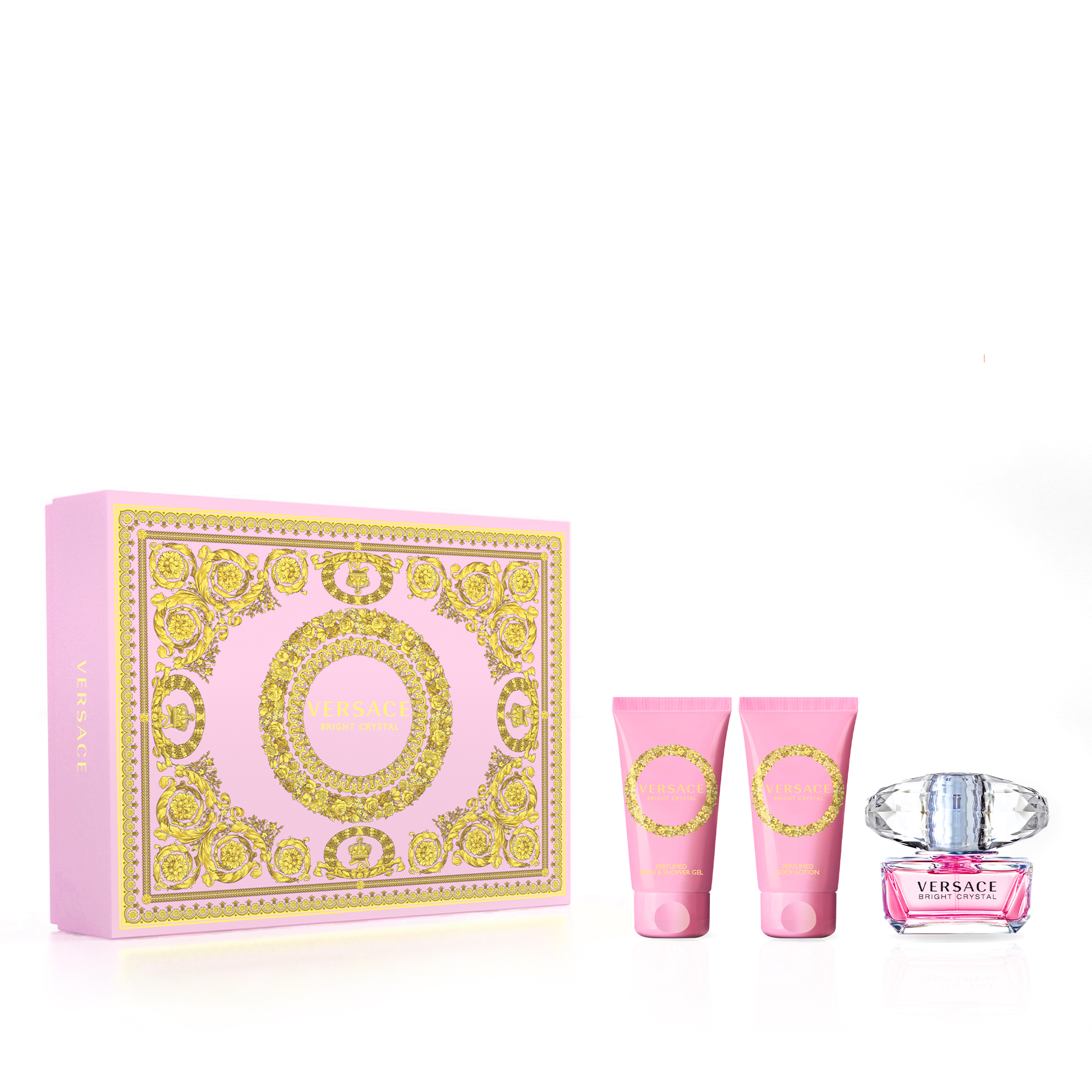 Versace Bright Crystal EDT 50ml Gift Set 2020