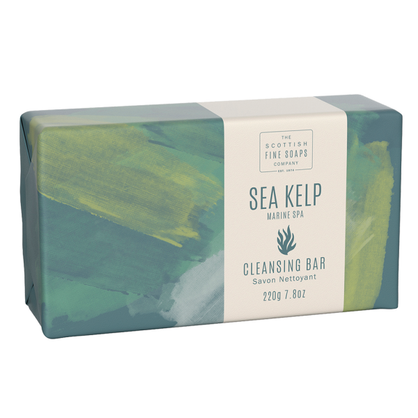 Scottish Fine Soaps Sea Kelp - Marine Spa Cleansing Bar 220g