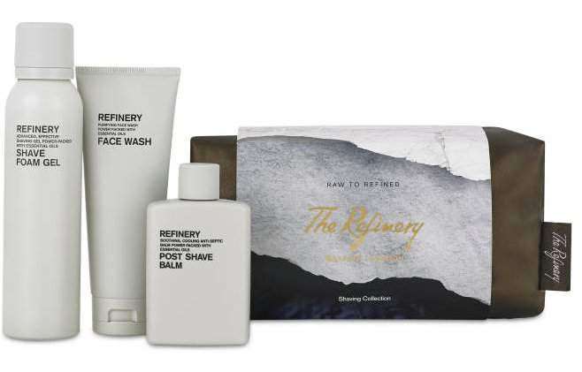 Aromatherapy Associates The Refinery Raw To Refined Shaving Collection