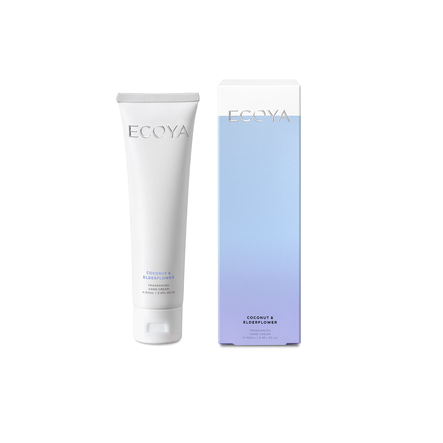 Ecoya Coconut and Elderflower Hand Cream 3.3oz (100ml)
