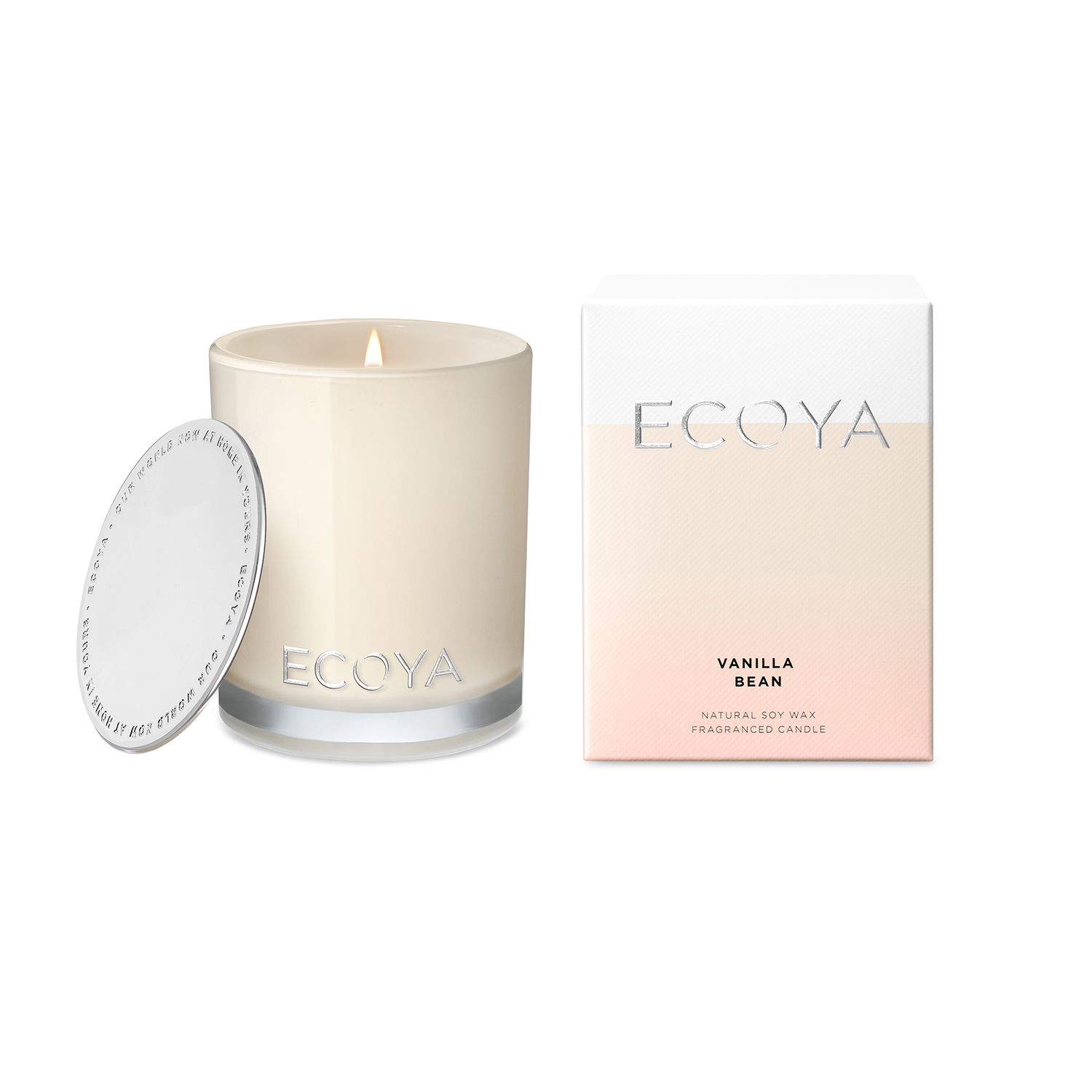 Ecoya Madison Jar Vanilla Bean Candle 400g
