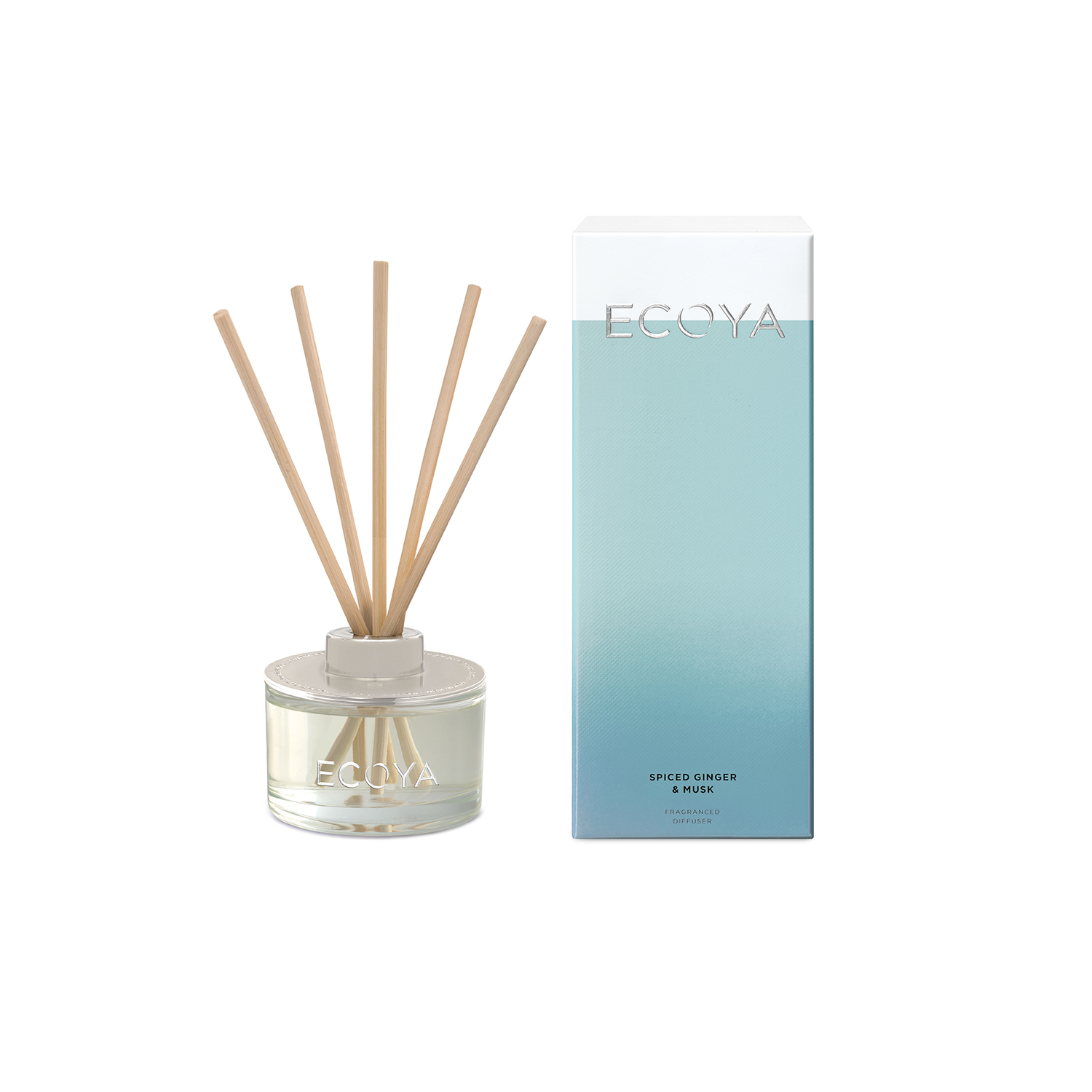 Ecoya Spiced Ginger and Musk Reed Diffuser 200ml
