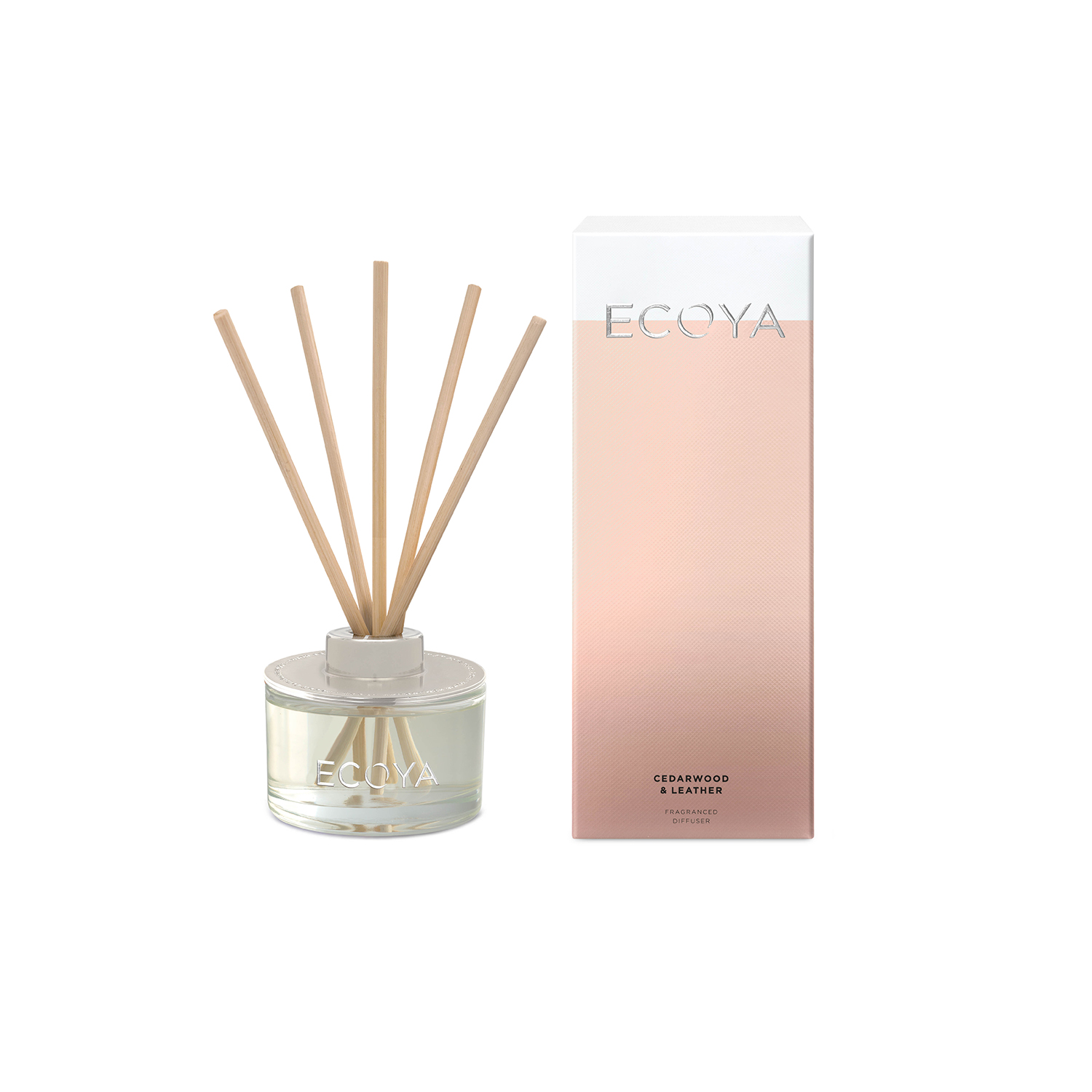 Ecoya Cedarwood and Leather Reed Diffuser 200ml