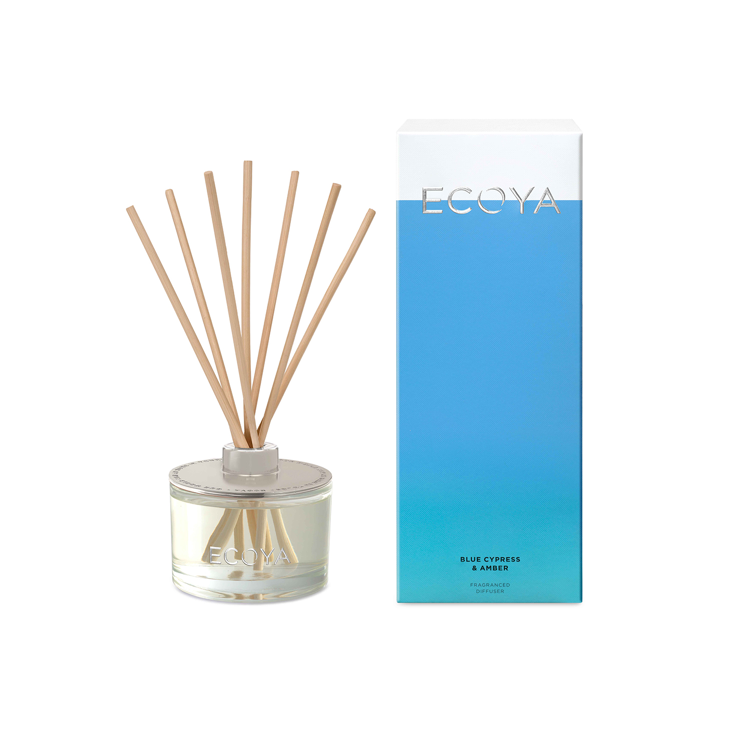 Ecoya Blue Cypress and Amber Reed Diffuser 200ml