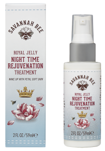 Savannah Bee Royal Jelly Nightime Rejuvenation