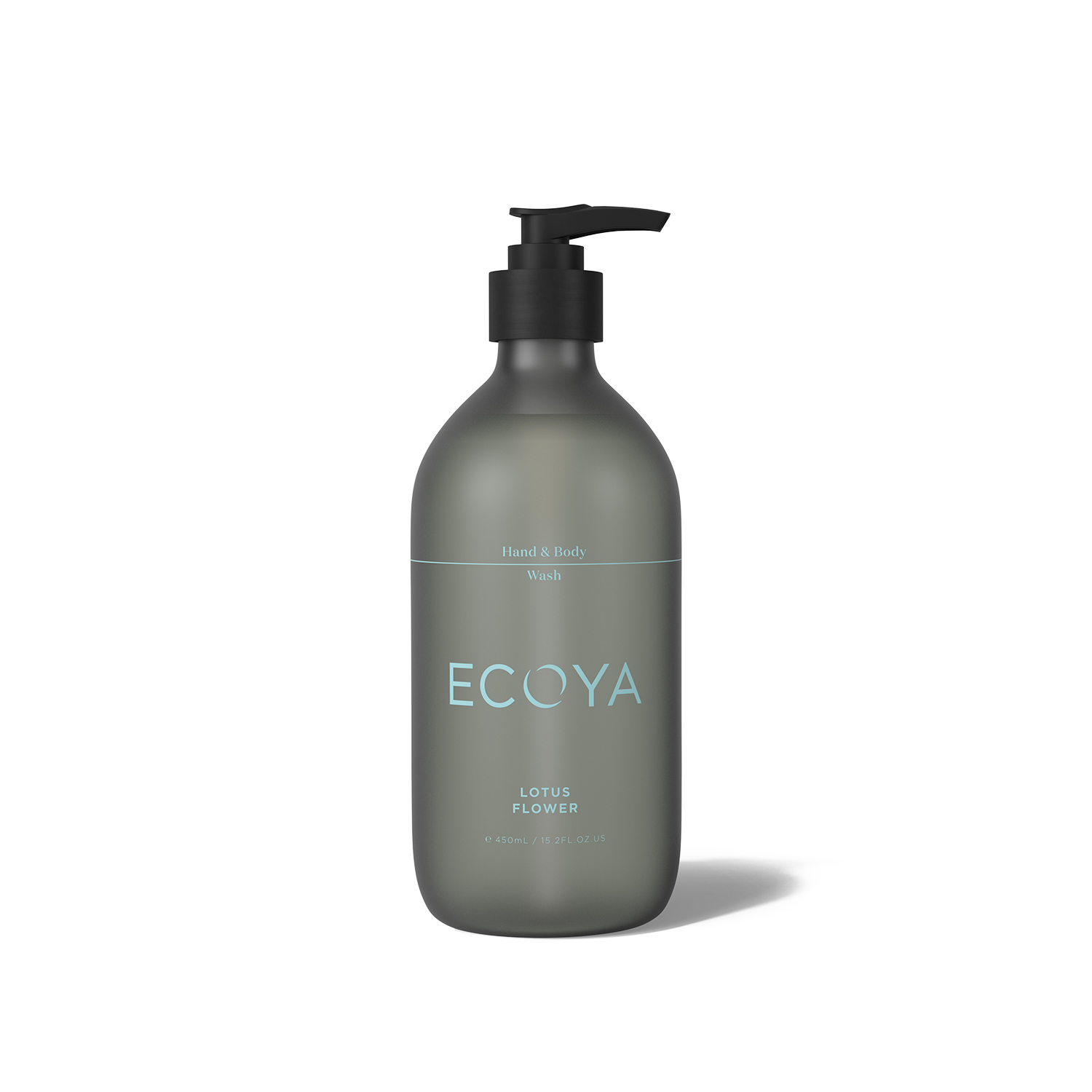 Ecoya Lotus Flower Hand and Body Wash 15.8oz (450ml)