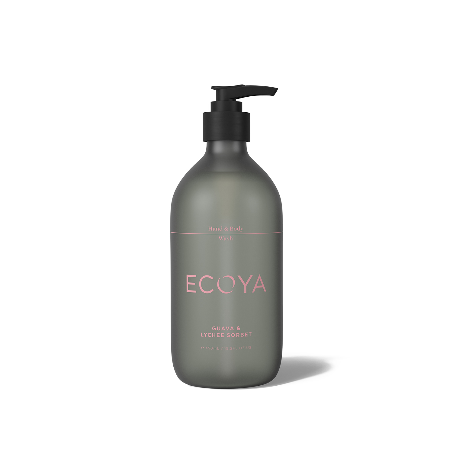 Ecoya Guava and Lychee Hand and Body Wash 450ml