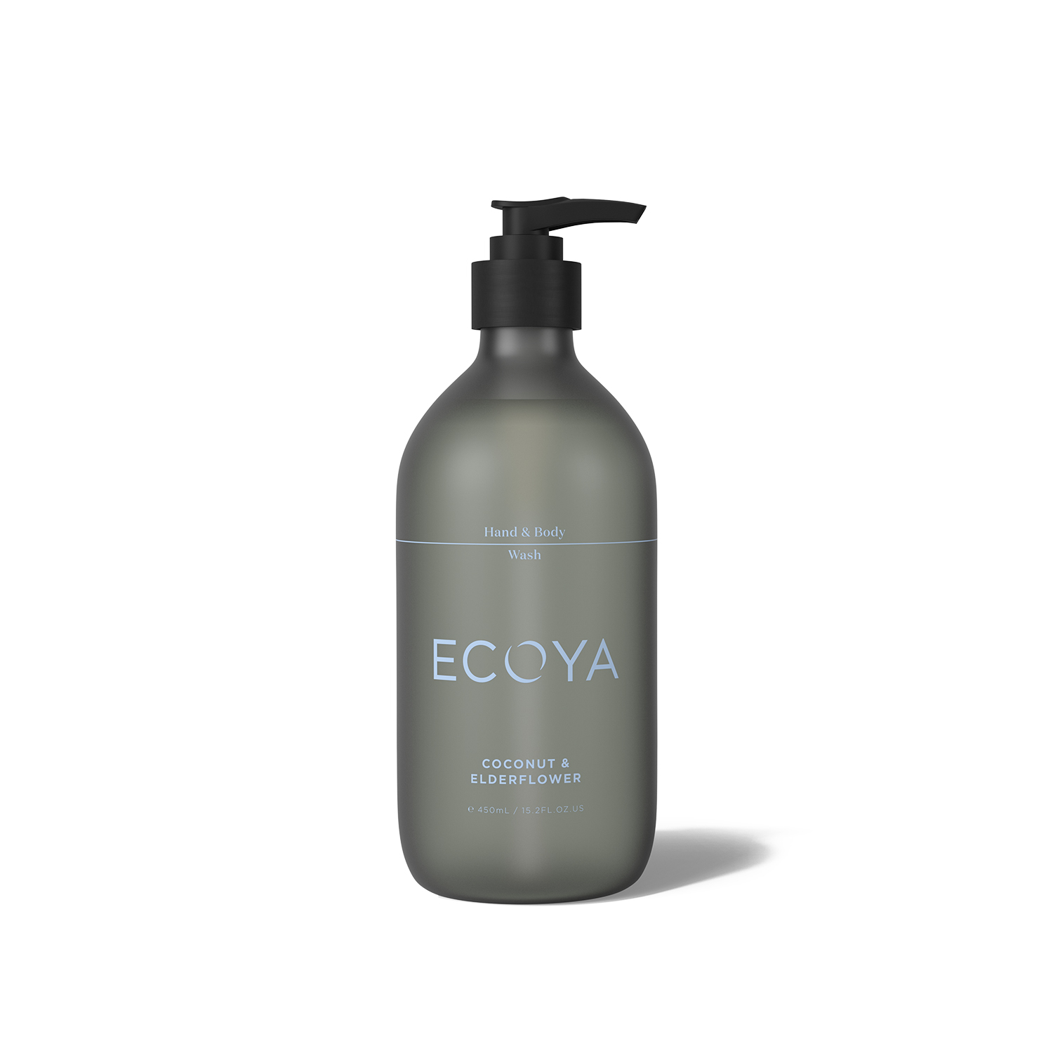 Ecoya Coconut and Elderflower Hand and Body Wash 15.8oz (450ml)