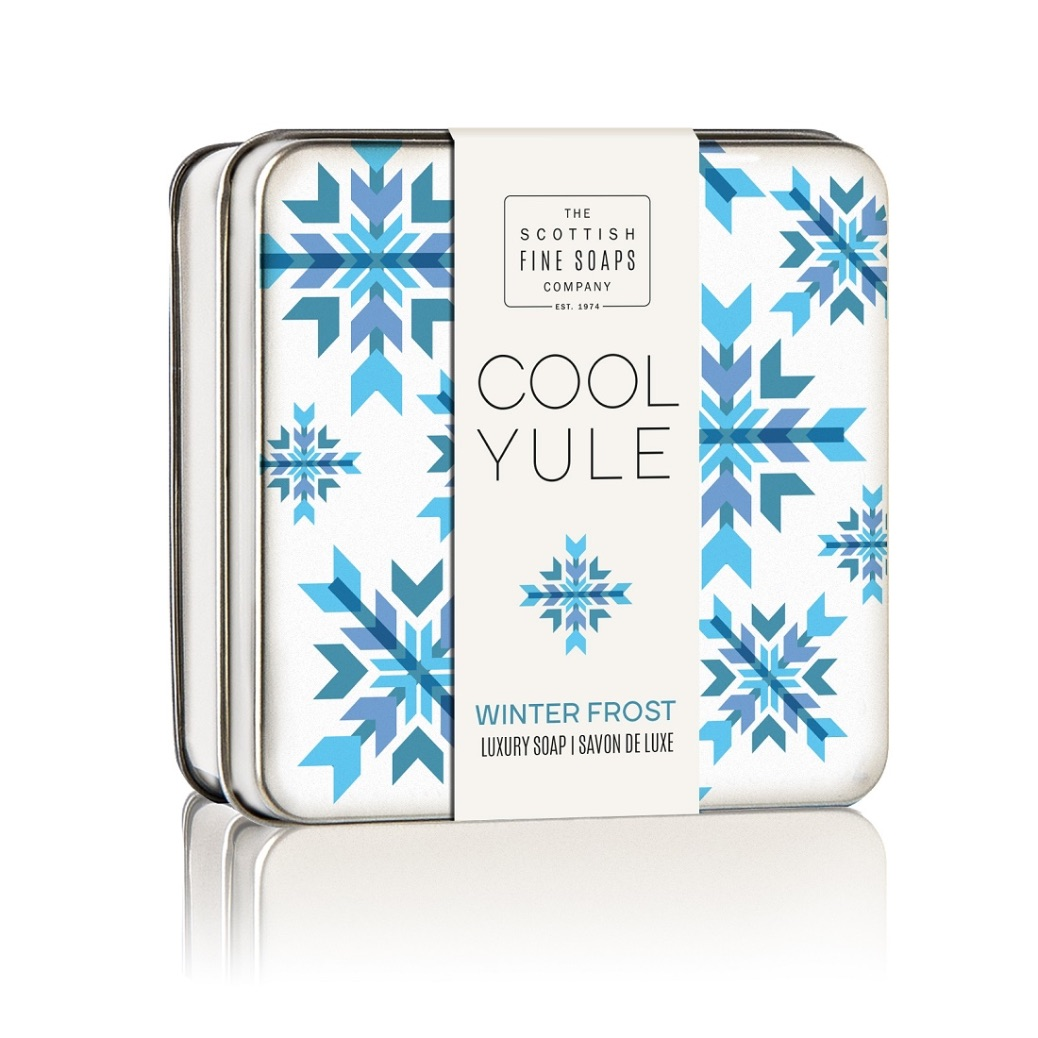 Scottish Fine Soaps Winter Frost Soap Tin 100g