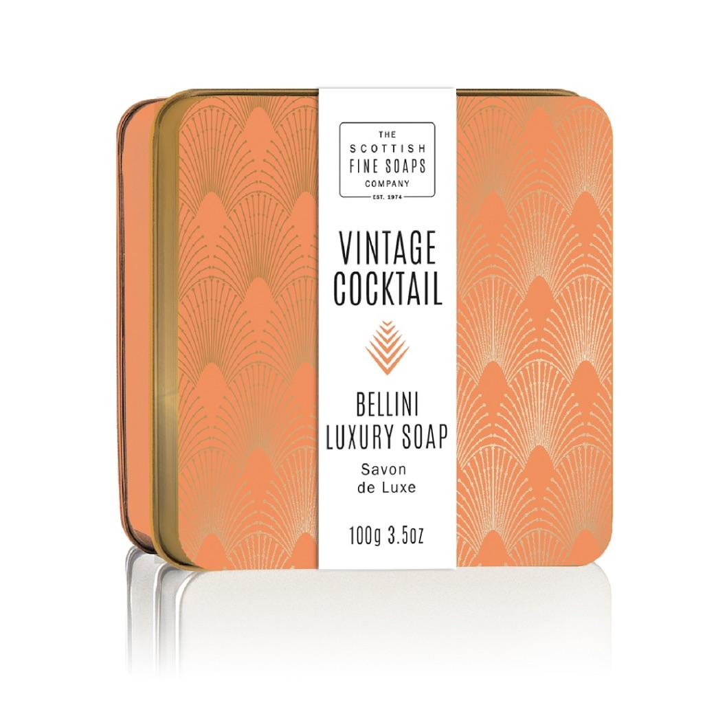 Scottish Fine Soaps Bellini Soap Tin 100g