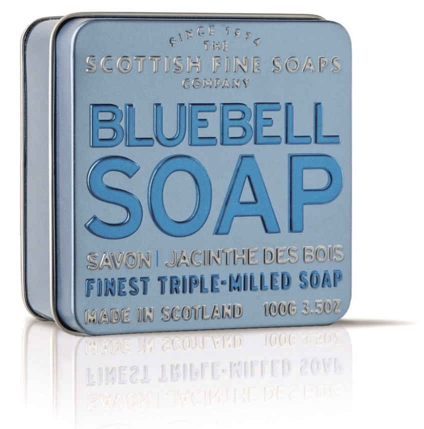 Scottish Fine Soaps Bluebell Soap Tin 100g