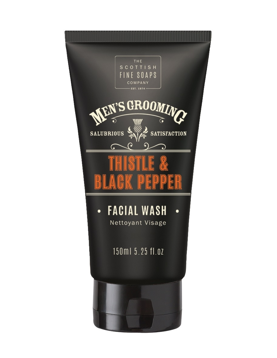 Scottish Fine Soaps Mens Grooming Facial Wash 5.3oz (150ml)