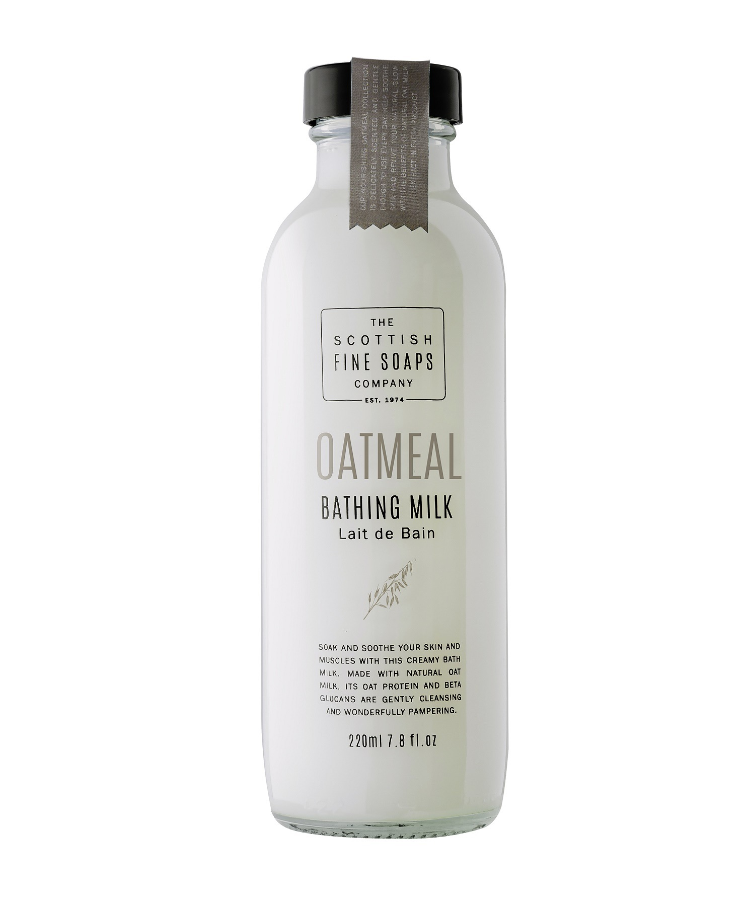 Scottish Fine Soaps Oatmeal Bathing Milk 220ml