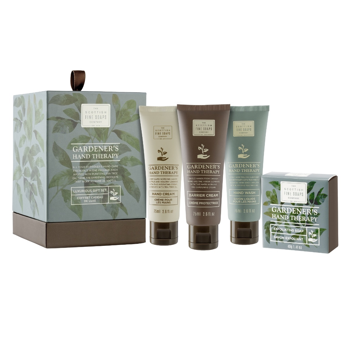 Scottish Fine Soaps Gardeners Therapy Luxury Gift Set