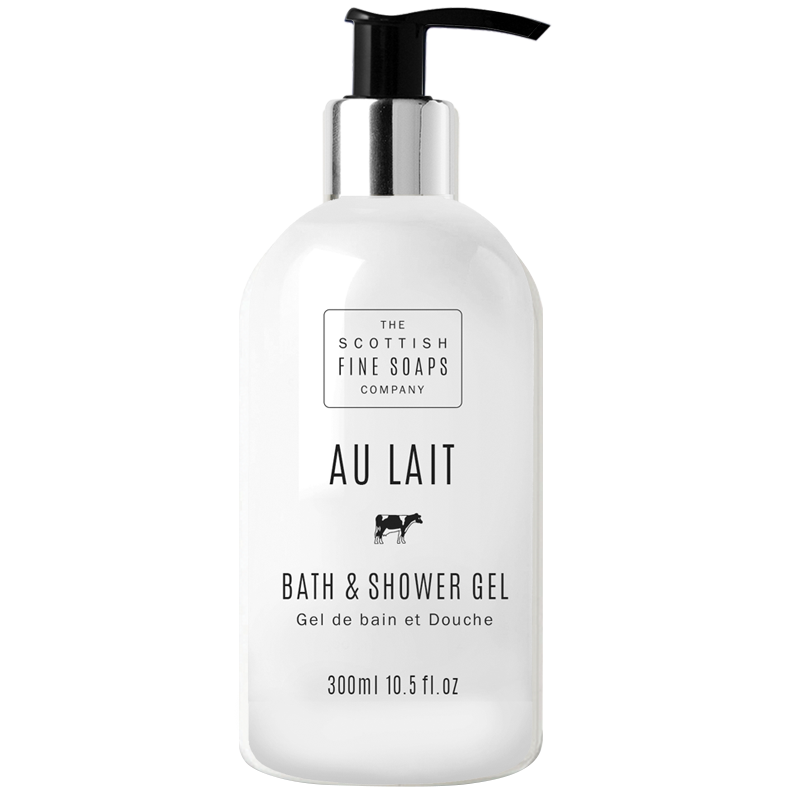Scottish Fine Soaps Au Lait Bath & Shower Gel 300ml