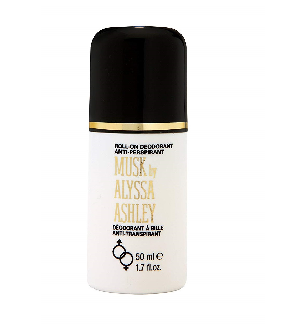 Alyssa Ashley Musk Roll-On Deodorant 50ml