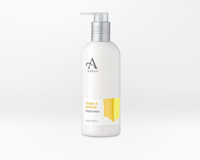 Arran Formulas Ginger and Ginseng Hand Cream 300ml