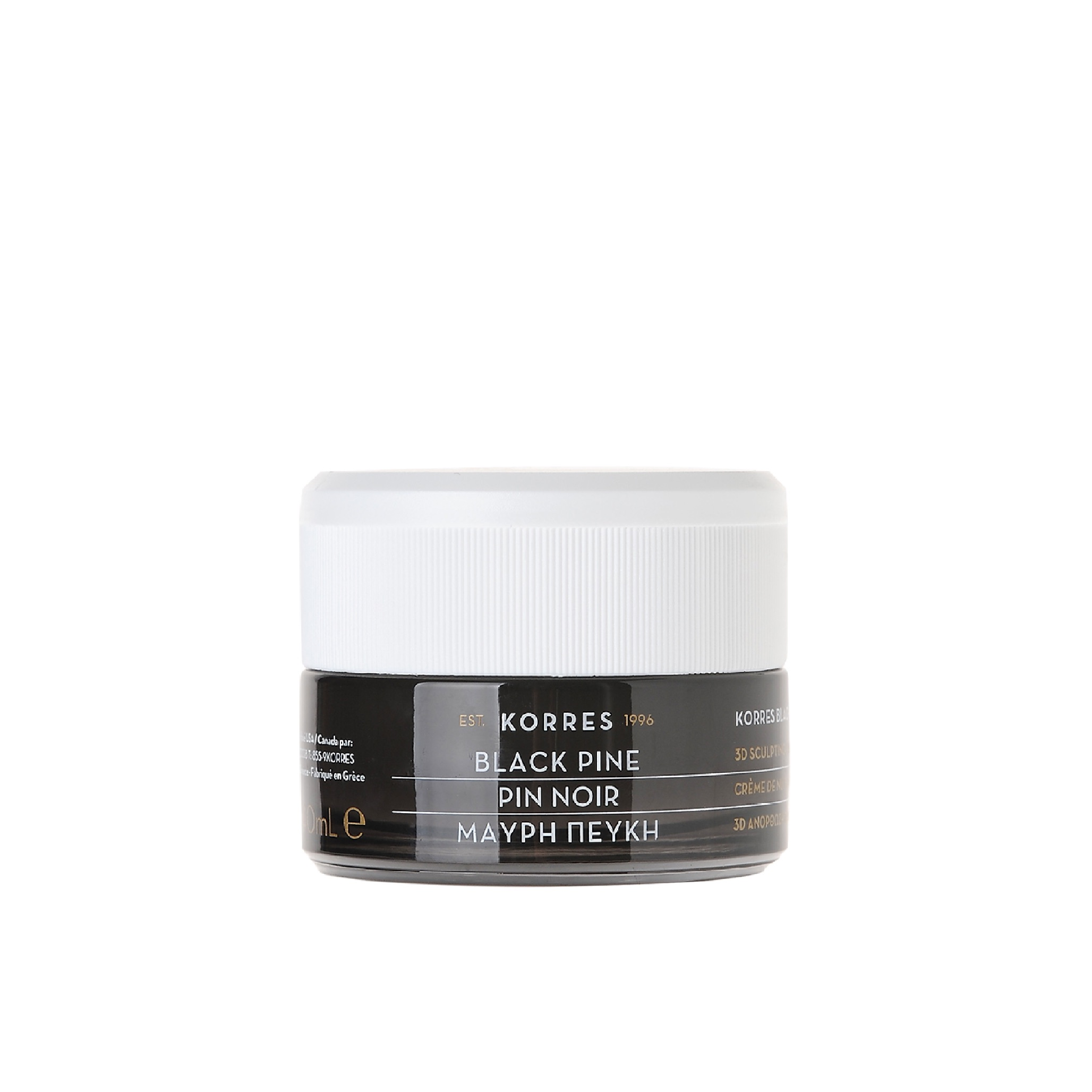 Korres 3D BLACK PINE Day Cream (Dry - Very Dry Skin) 40ml