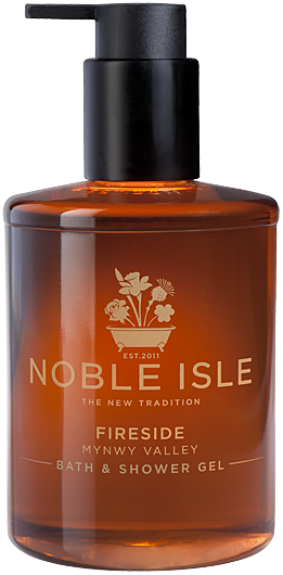 Noble Isle Fireside Bath & Shower Gel 250ml