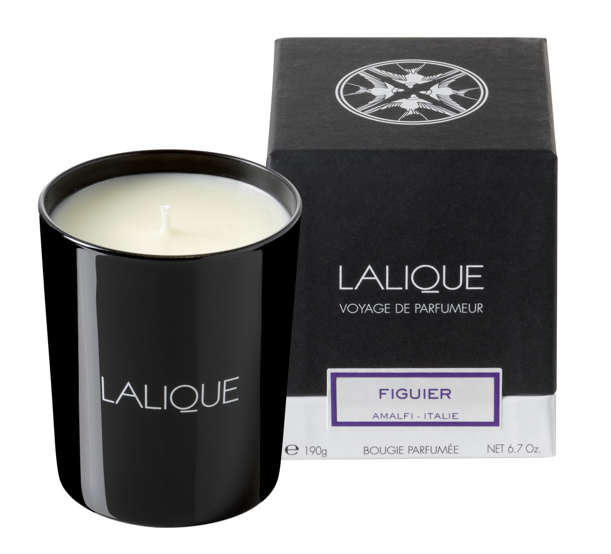 Lalique Amalfi Figuier Scented Candle 190g