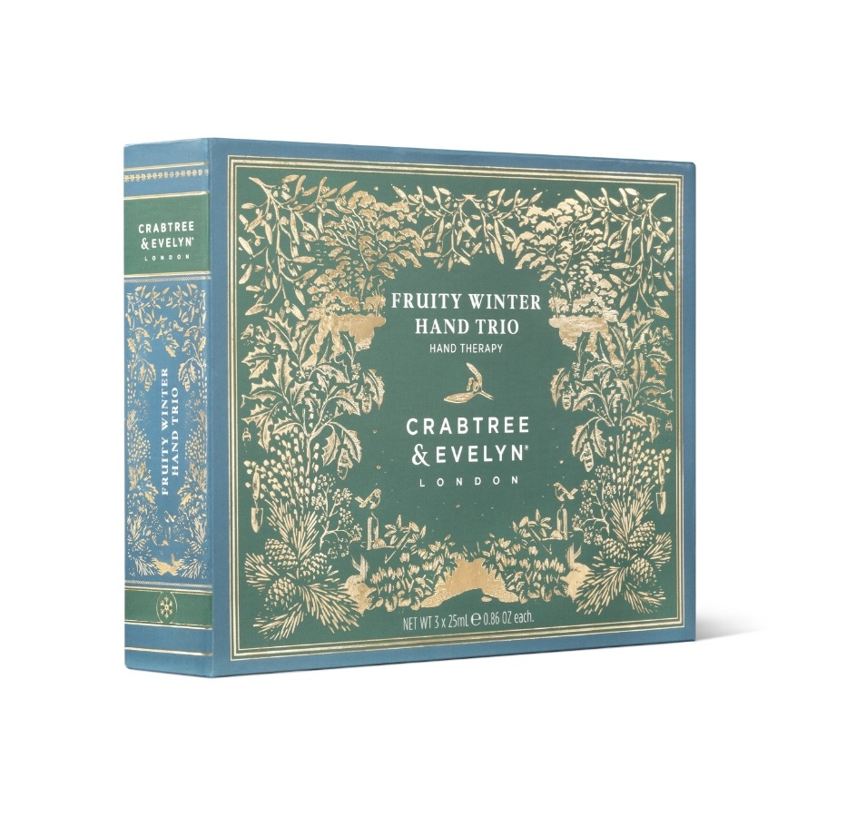 Crabtree & Evelyn Fruity Winter Hand Trio Gift Set