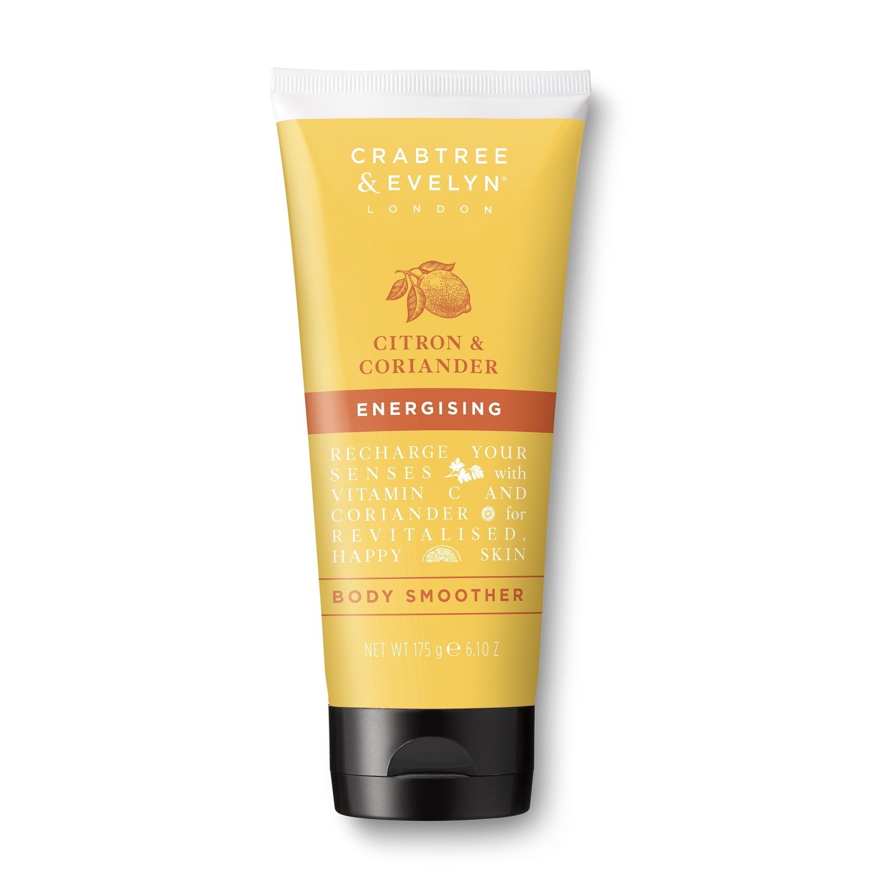 Crabtree & Evelyn Citron & Coriander Body Smoother 175g