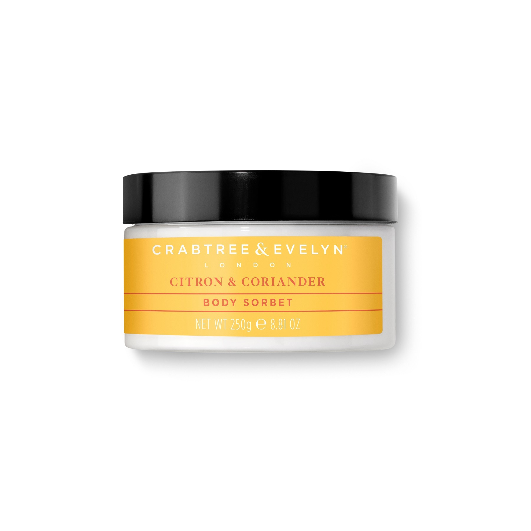 Crabtree & Evelyn Citron & Coriander Body Cooling Sorbet 250g