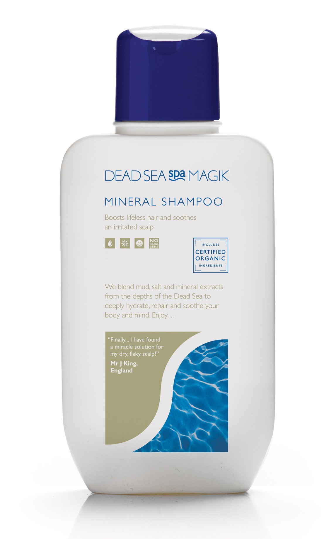 Dead Sea Spa Magik Mineral Shampoo 330ml