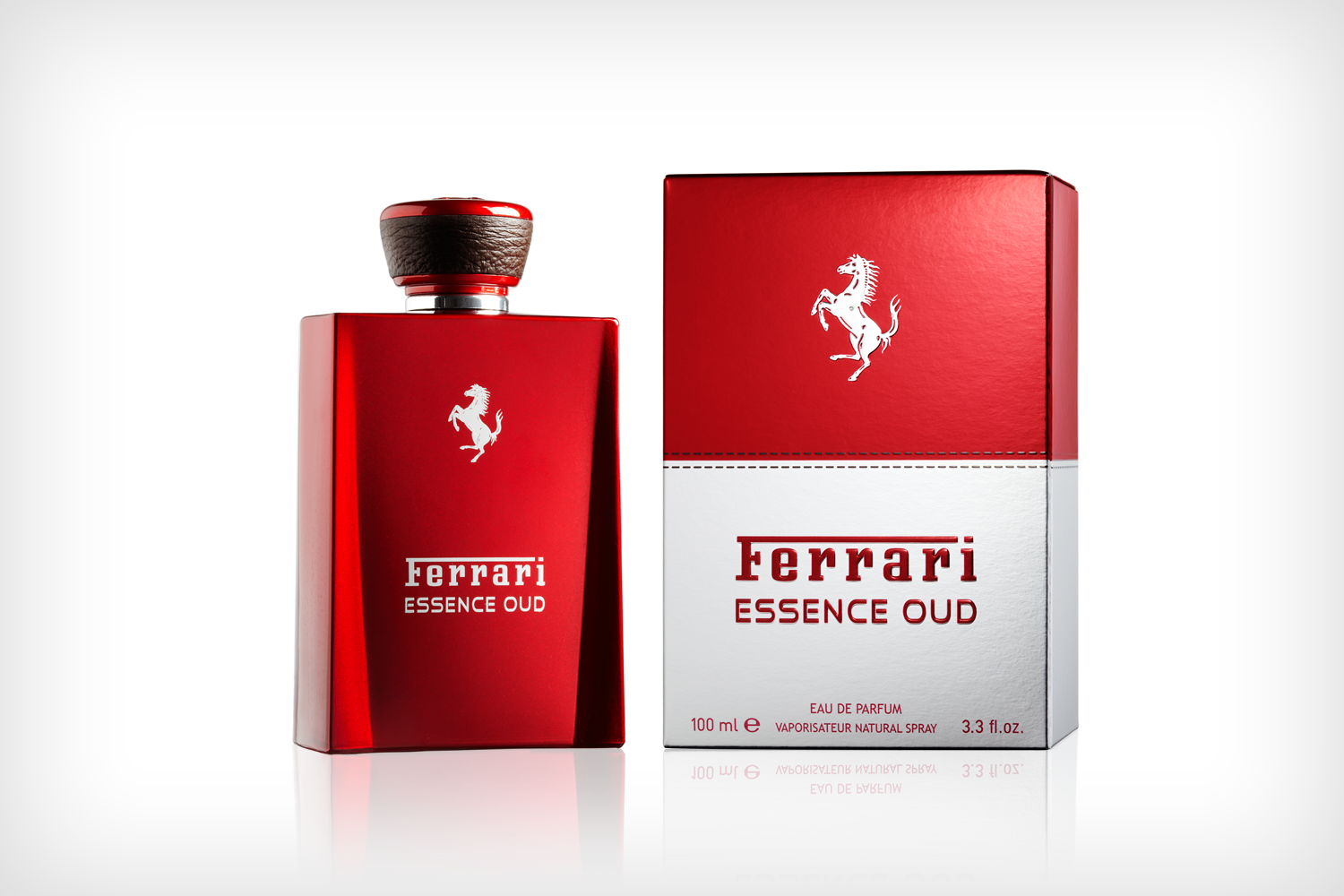 Ferrari Essence Oud for Men Eau De Parfum 3.4oz (100ml)