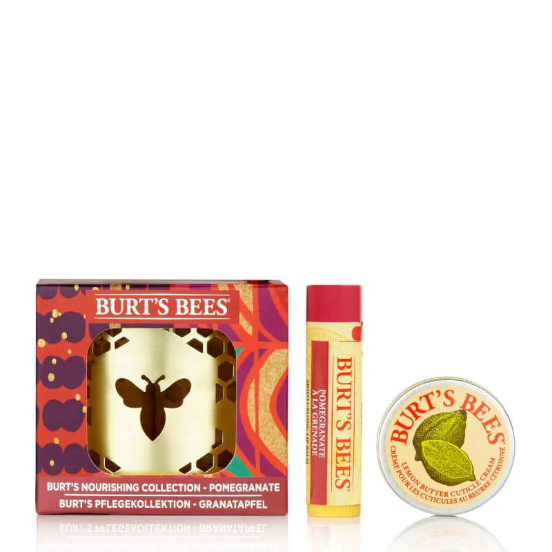 Burt's Bees Nourishing Lip Collection Pomegranate Christmas 2019