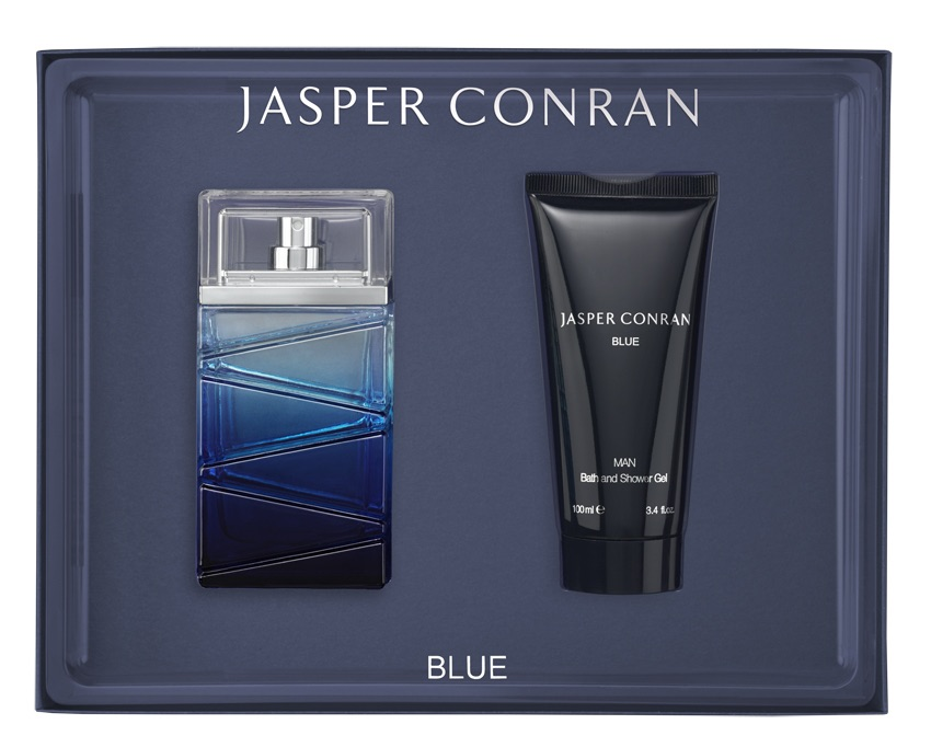 Jasper Conran Blue Man Eau De Toilette 3.4oz (100ml)  Gift Set