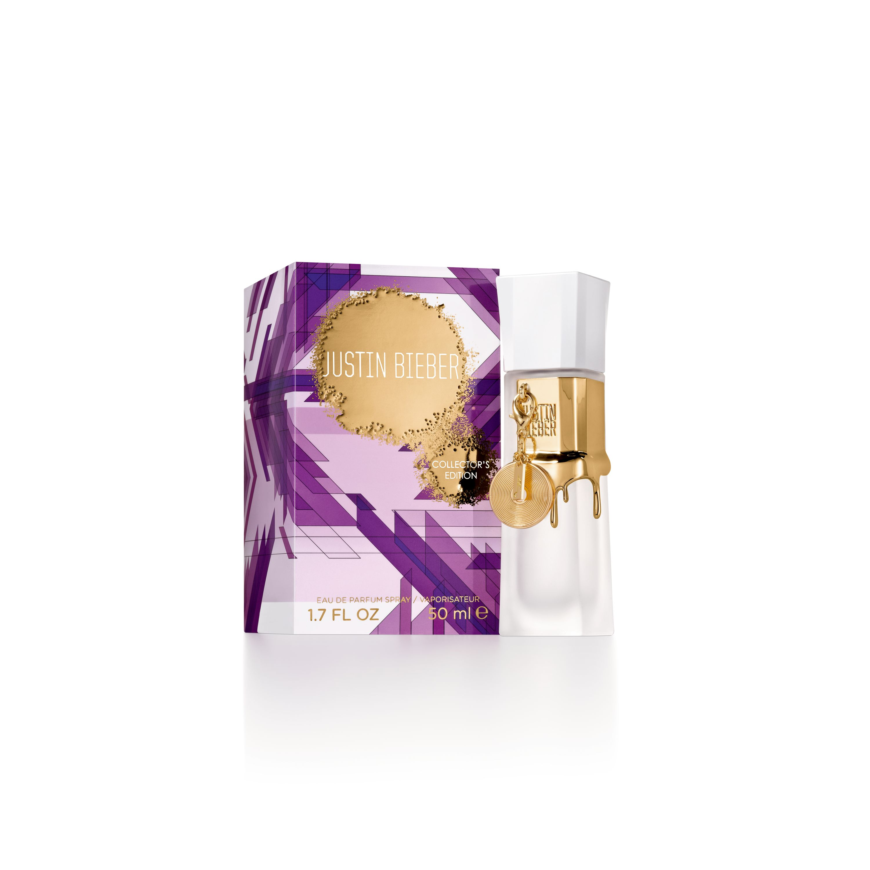 Justin Biebers Collectors Edition Eau De Parfum 50ml