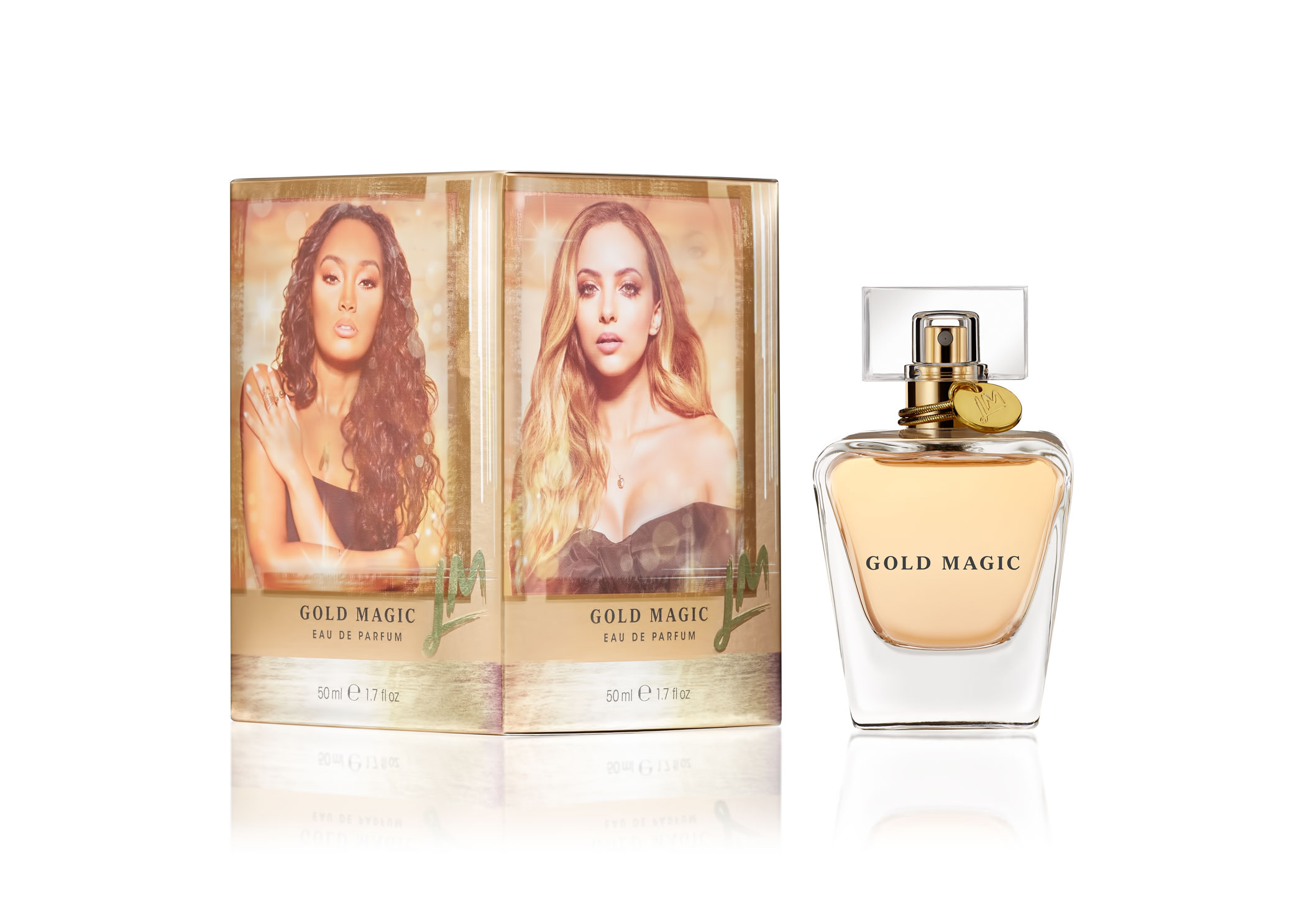 Little Mix Gold Magic Eau De Parfum 1.7oz (50ml)