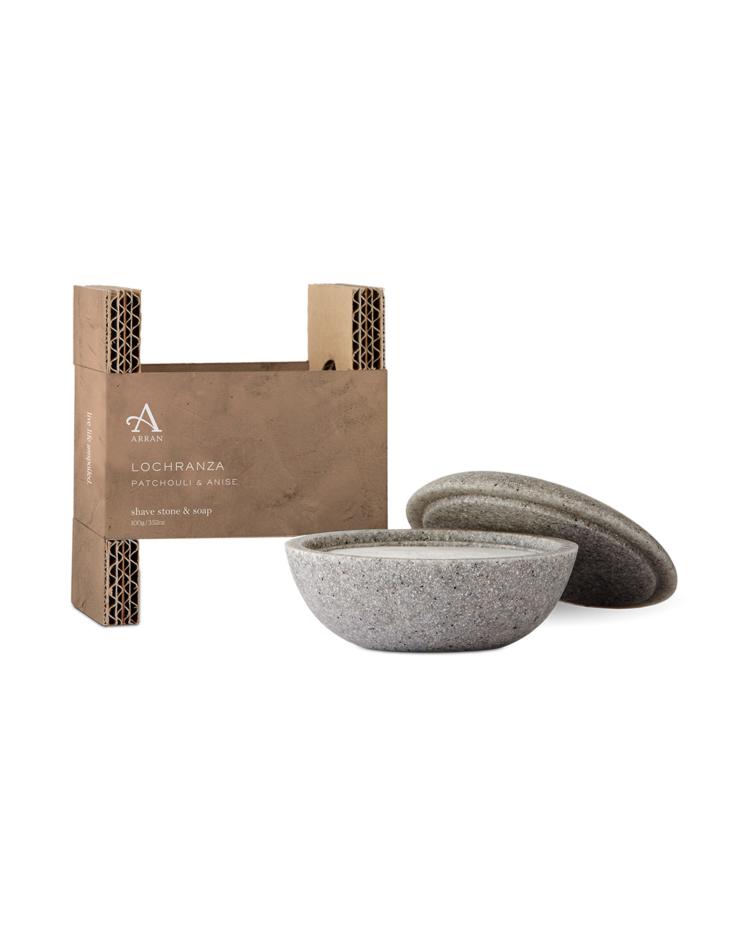 Arran Lochranza Shave Stone and Soap 100g