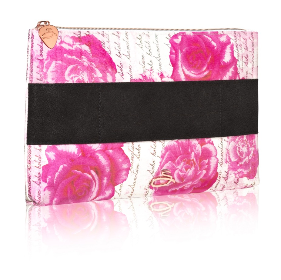 Sanctum Soho Rose Script Medium Wash Bag