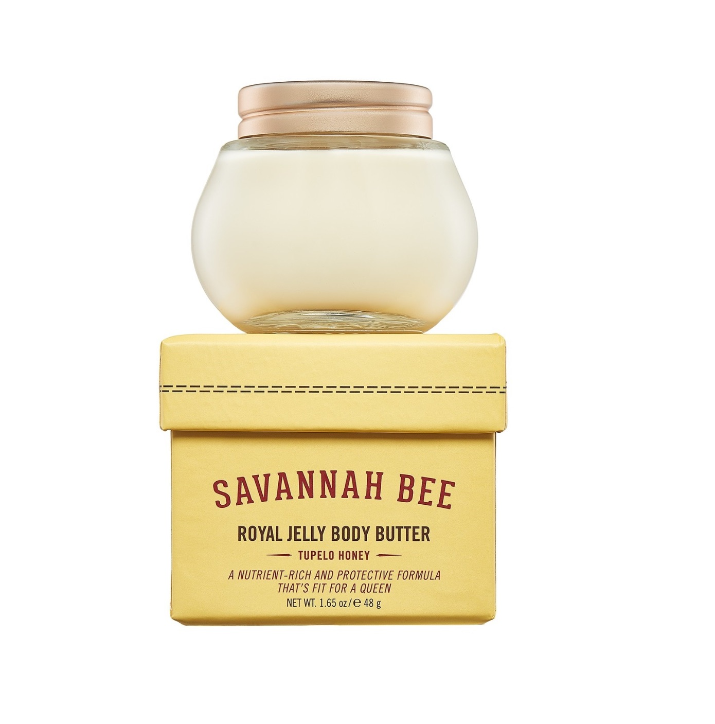 Savannah Bee Mini Tupelo Honey Royal Jelly Body Butter 48g