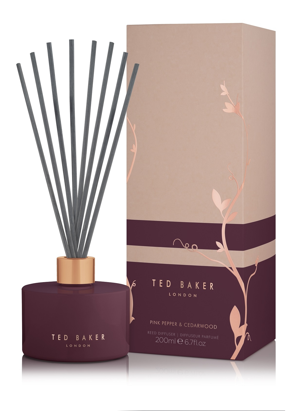 Ted Baker Residence Pink Pepper & Cedarwood Diffuser 200ml