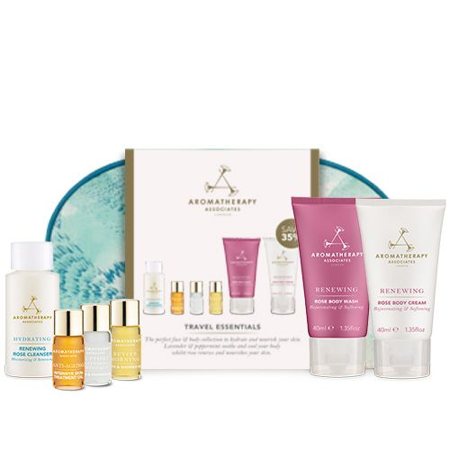 Aromatherapy Associates Summer Travel Essentials Cosmetic Bag