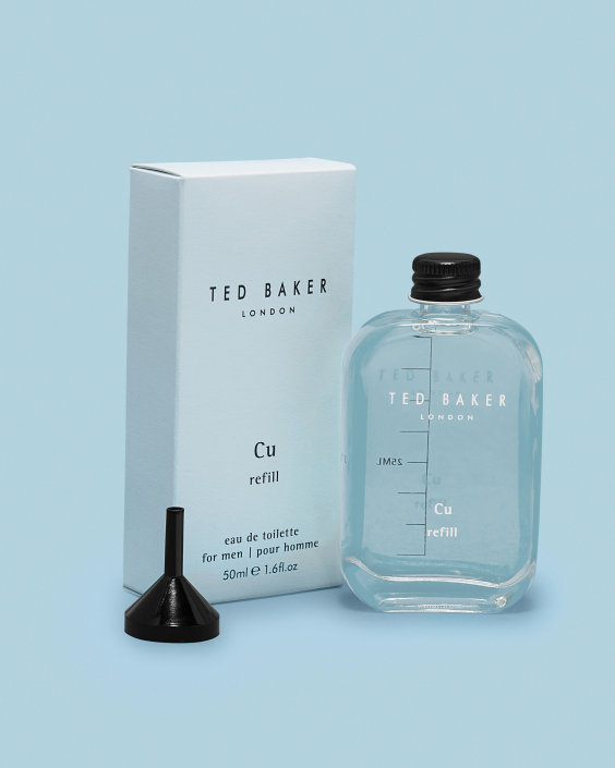 Ted Baker Cu Copper Eau de Toilette 1.7oz (50ml) Travel Tonic Refill