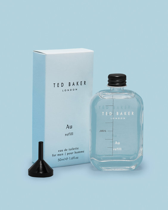 Ted Baker Au Gold Eau de Toilette 50ml Travel Tonic Refill